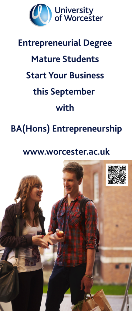 BA Entrepreneurship Worcester Business School